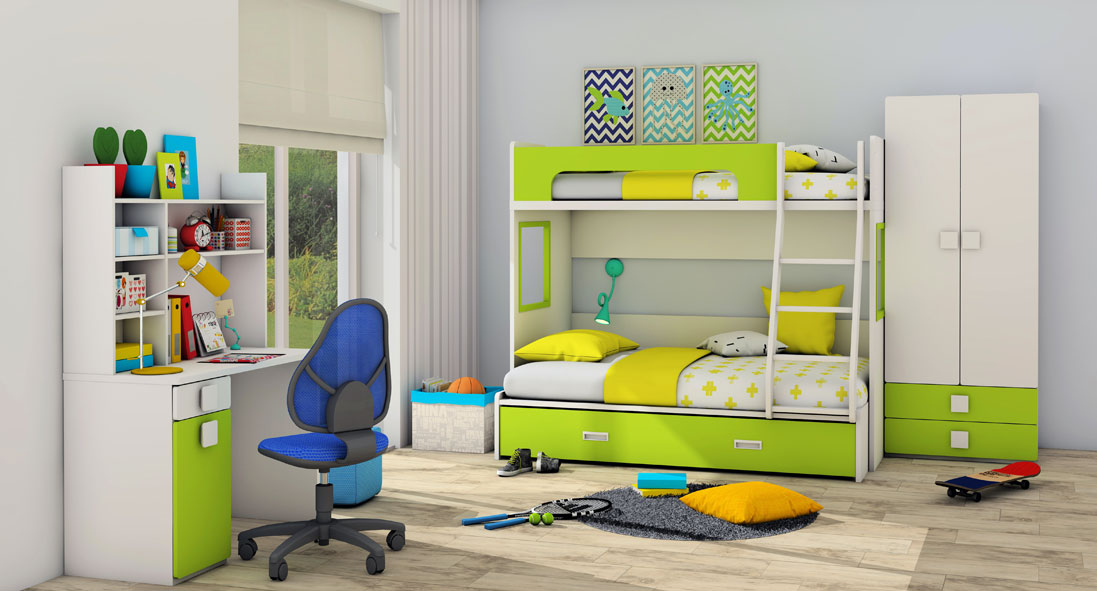 Do You Have Young Boys At Home? Are They Full Of Energy And Create A Lot Of  Nuisance? Then You Must Surely Be Wondering What Kind Of Furniture You  Should ...
