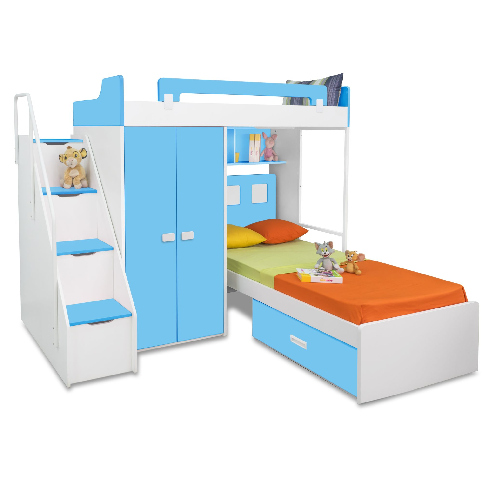 Picture of: The Pros And Cons Of Buying L Shaped Bunk Beds