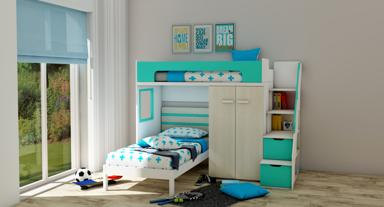 The Pros And Cons Of Buying L Shaped Bunk Beds