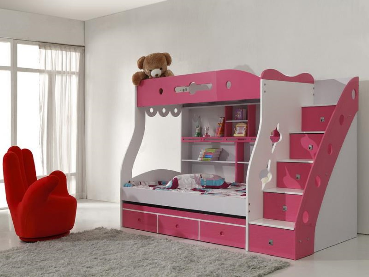 brightly beds with for bedding room swopee together design disney bunk girls multipurpose desk loft teen sh sweet bed playhouse teenage set ga journey bedroom little gallant sets