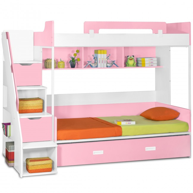 Making a child s room more fun children s bunk beds with for Beds express delivery