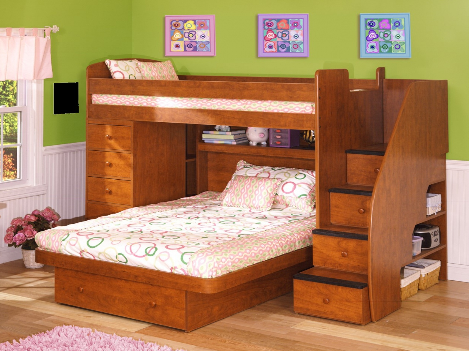L-Shaped-Bunk-Beds-For-kids