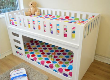 cool-bunk-beds-with-Mattress-for-boys