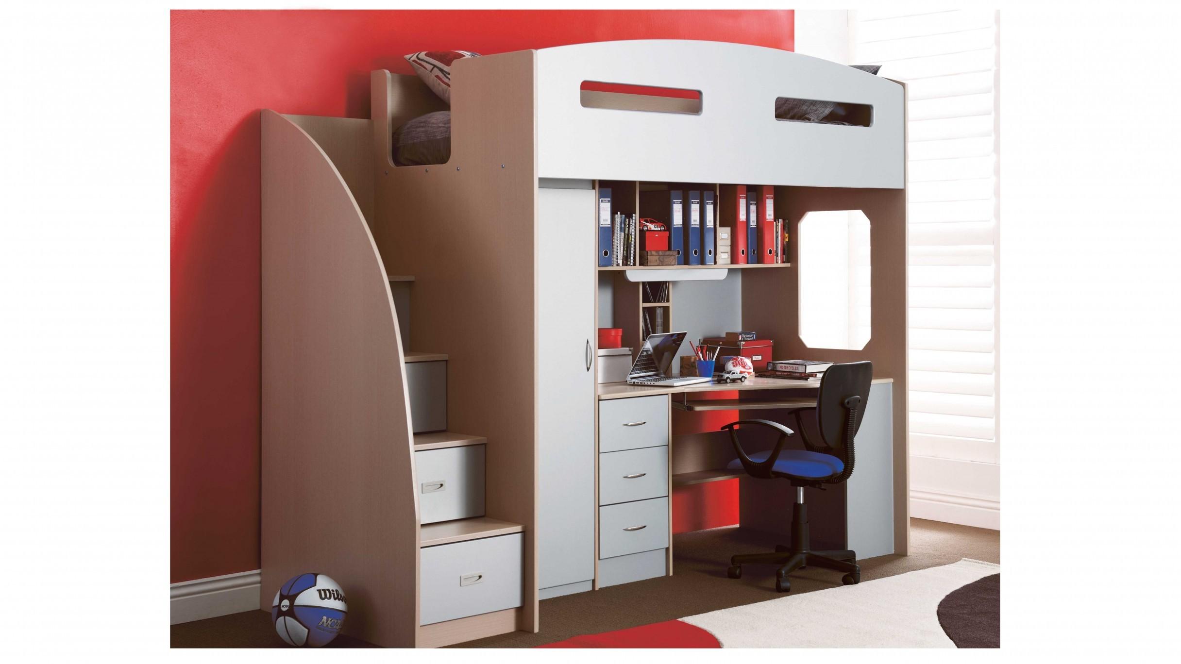 princess loft & study bunk beds for sale
