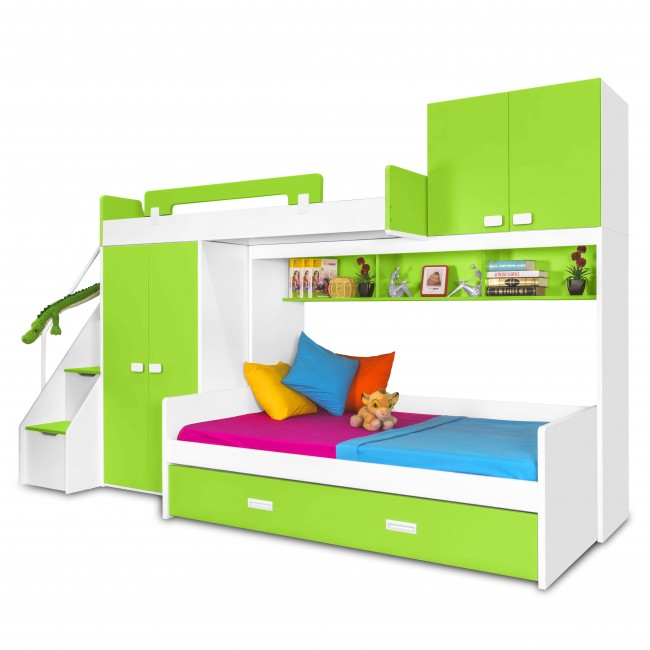 bunk beds with stairs for toddlers