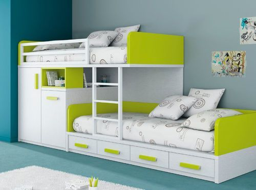 Delicieux Bunk Beds With Storage. Decorating Childrenu0027s ...