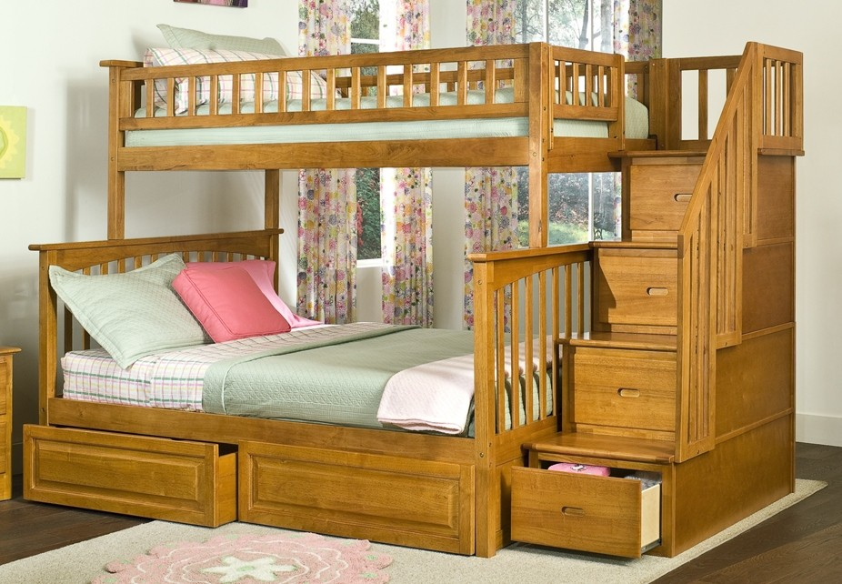 Make Sleeping Fun Have Bunk Beds Wooden Bunk Beds With Drawers
