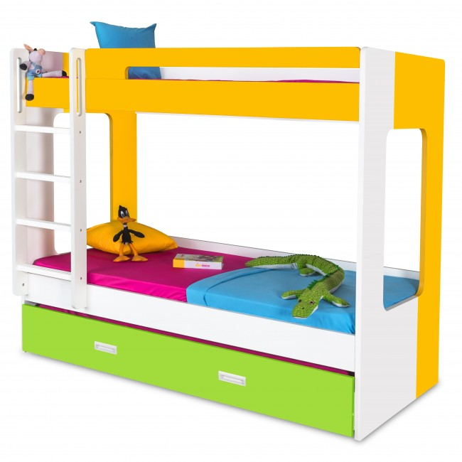 Metal Bunk Bed With Trundle