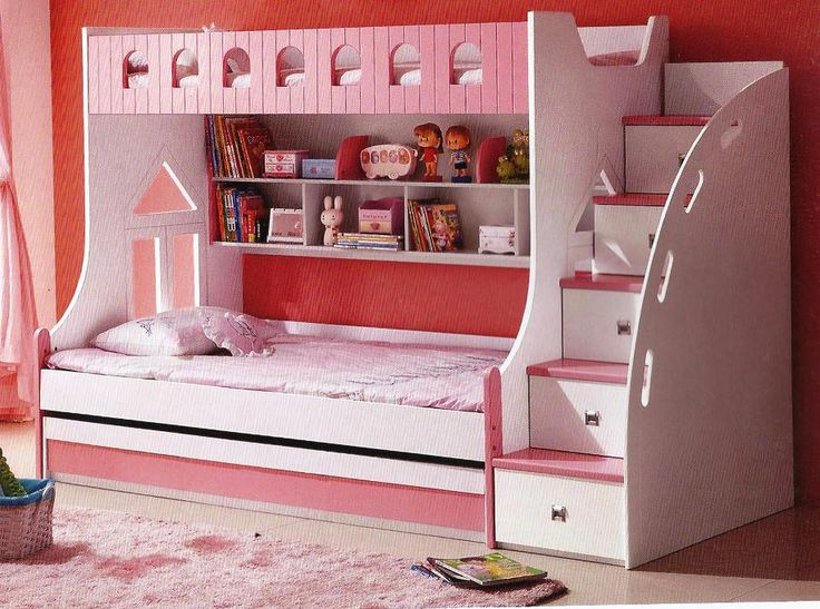 princess bunks with a couch for sale