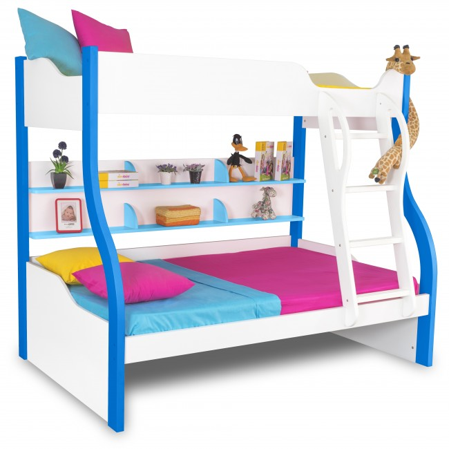 Bunk beds with stairs for kids