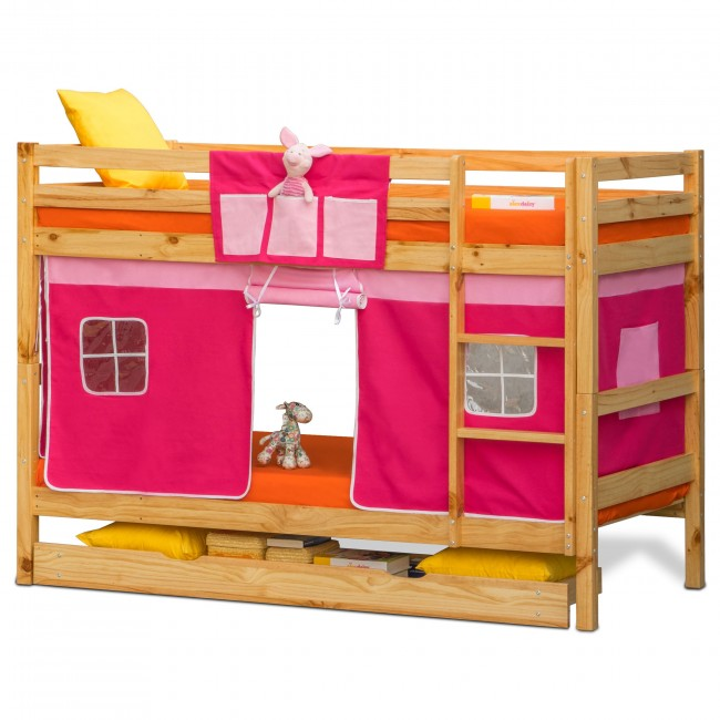 Princess bunk beds for girls