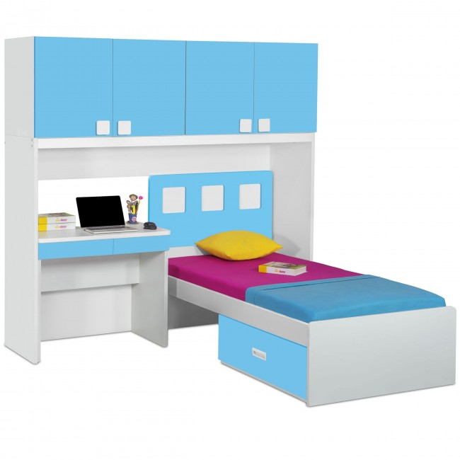 Cheap L-shaped bunk beds