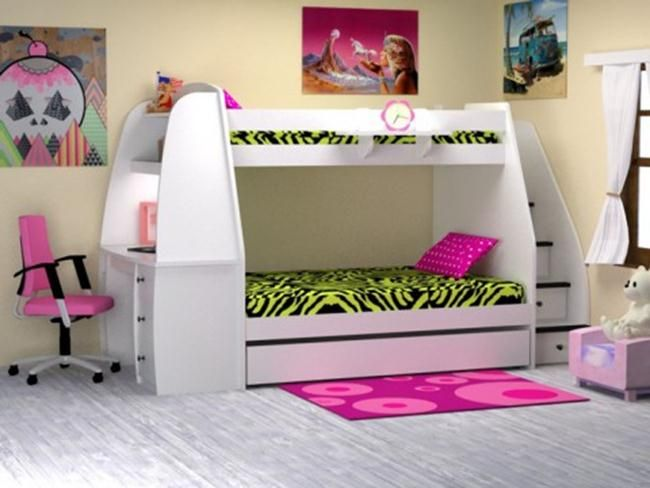 storage bunk beds for kids