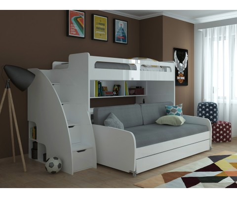 Bunk Beds With Couch