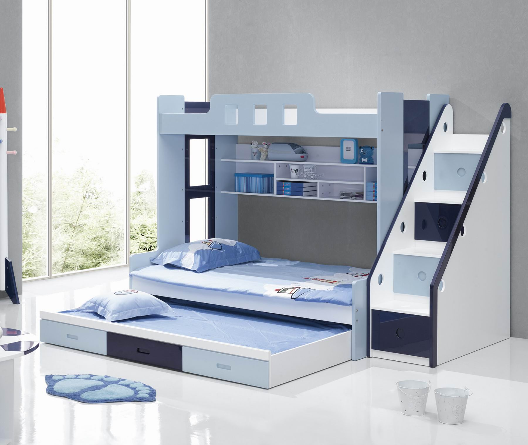 Picture of: A Delightful Experience For Your Growing Kids Bunk Beds With Couch