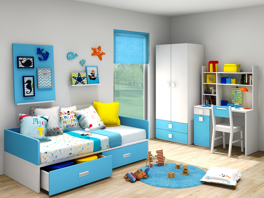 girl bunk beds with drawers